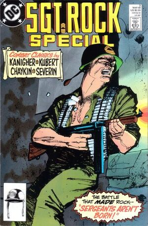 Cover for Sgt. Rock Special #3