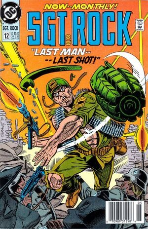 Cover for Sgt. Rock Special #12