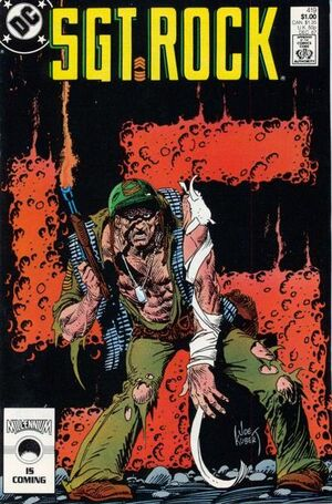 Cover for Sgt. Rock #419