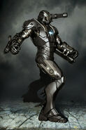 War Machine Movie Suit Concept 2