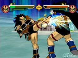 Raditz using dynamite monday
