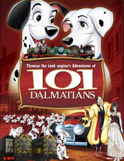 Thomas' Adventures of 101 Dalmatians poster V2