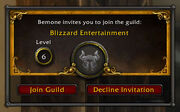Guild invite in Cataclysm