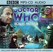The Dalek's Master Plan MP3-CD
