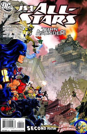 Cover for JSA All-Stars #11
