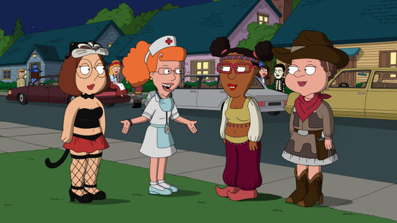 Family Guy Season 9 Episode 4 Halloween on Spooner Street