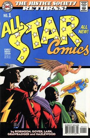 Cover for JSA Returns: All-Star Comics #1