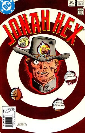 Cover for Jonah Hex #74