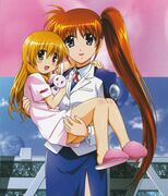 Vivio and Nanoha 1