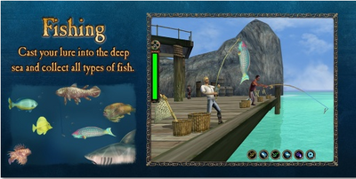 Loadingscreen fishing