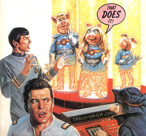 Star Trek--Pigs in Space