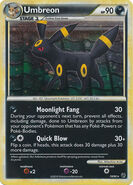Umbreon HS Undaunted TCG