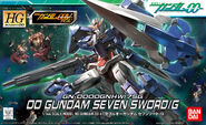 00 Gundam Seven Sword Gun