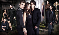 The Vampire Diaries Cast and Title
