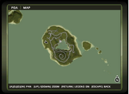 Isla Dominio map
