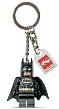 Lego Batman 851686 Batman Key Chain (Брелок Бэтмен в Черном Костюме