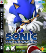 Sonic The Hedgehog (2006) - Box Artwork - Ps3 Korean Front - (1)