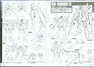 Gundam 00 Reborns Gundam Lineart