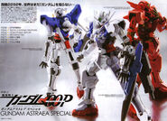 Gundam 00P Special Edition Gundam Astraea X