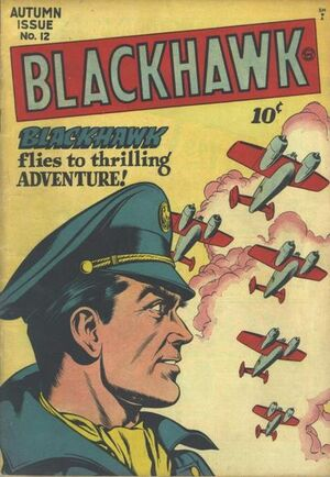 Cover for Blackhawk #12