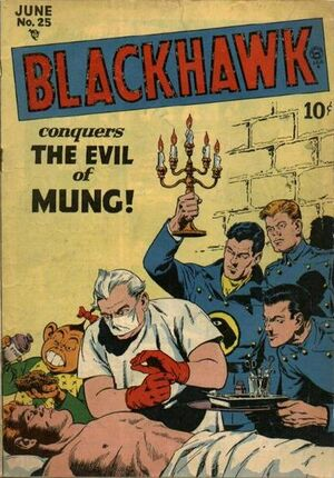 Cover for Blackhawk #25
