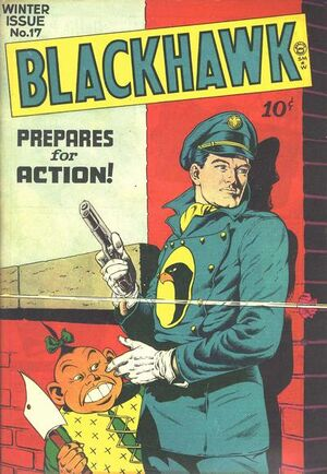 Cover for Blackhawk #17