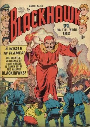 Cover for Blackhawk #28
