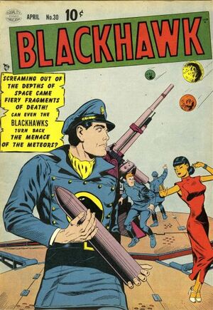 Cover for Blackhawk #30