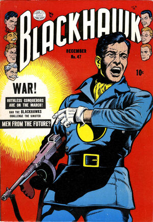Cover for Blackhawk #47