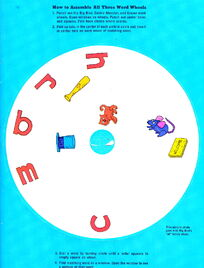 Sesame street word wheels 3