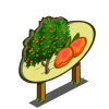 Golden Apricot Tree Mastery Sign-icon