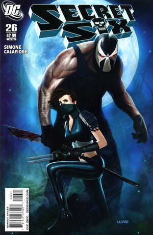 Cover for Secret Six #26