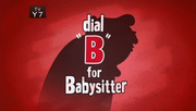 10-1 - Dial B For Babysitter