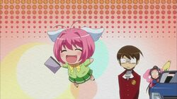 Keima meets up Kanon
