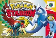 Pokémon Stadium 2 Cover