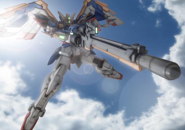 Wing Gundam Kai, Zero Custom Use XXXG-01W_Wing_kai