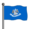 Louisiana Flag-icon