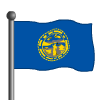Nebraska Flag-icon
