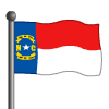North Carolina Flag-icon