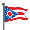 Ohio Flag-icon