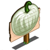 White Pumpkin Mastery Sign-icon