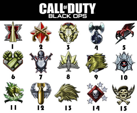 call of duty black ops prestige emblems. Call of Duty: Black Ops