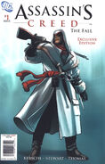 Assassins Creed The Fall Vol 1 1 Target Variant