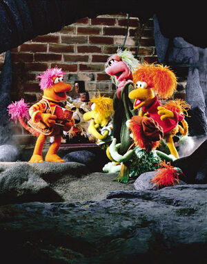 FraggleRock-PostcardFraggles