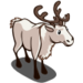 White Reindeer-icon