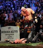 Kane vs taker grave