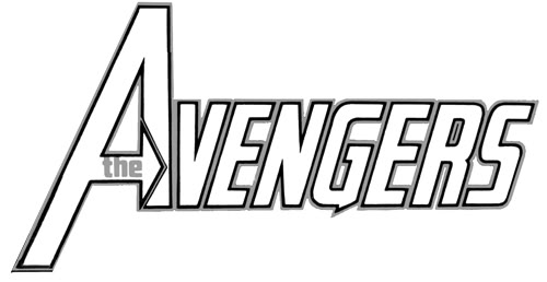 Avengers Symbol Coloring Pages : Free coloring pages of avengers logo