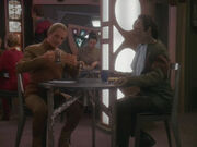 Odo and Garak