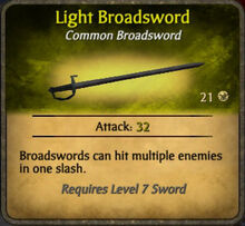 Light Broadsword 2010-11-15