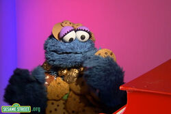 Cookiemonster-ladygaga